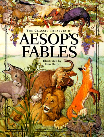 Aesop fables book cover
